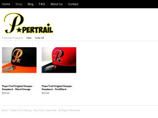Shop at papertrailclothing.com