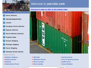 Shop at parcels.com
