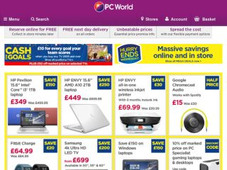 Shop at pcworld.co.uk