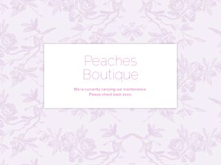 Shop at peachesboutique.bigcartel.com
