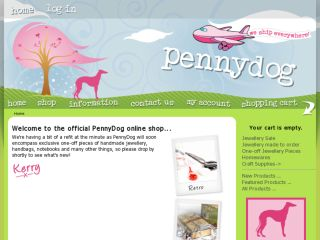 Shop at pennydog.com