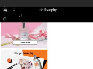 Shop at philosophy.com