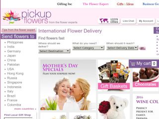 Shop at pickupflowers.com