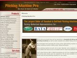 Browse Pitching Machine Pro