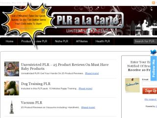Shop at plralacarte.com