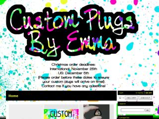 Shop at plugsbyemma.bigcartel.com