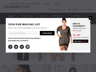Shop at plussizefix.com