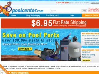 Shop at poolcenter.com
