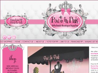 Shop at poutinpink.com