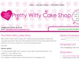 Prettywittycakeshop.co.uk Coupon Codes