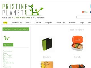 Shop at pristineplanet.com