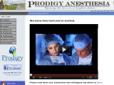 Browse Prodigy Anesthesia