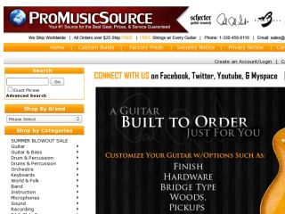 Shop at promusicsource.com