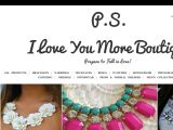 Psiloveyoumoreboutique.com Coupon Codes