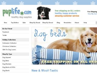 Shop at puplife.com