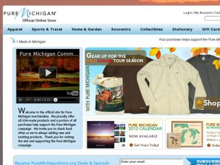 Shop at puremichiganstore.org