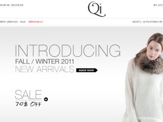 Shop at qicashmereshop.com