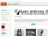 Queenambrosia.etsy.com Coupons
