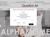 Question Air Coupon Codes