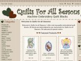 Quiltsforallseasons.com Coupon Codes