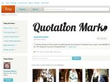 Quotationmarks.etsy.com Coupons