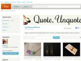 Quoteunquotedesign.etsy.com Coupons