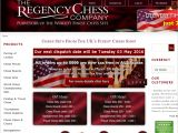 Browse The Regency Chess Company