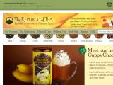 Browse The Republic Of Tea
