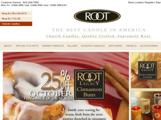 Shop at rootcandles.com