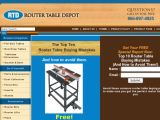 Browse Router Table Depot