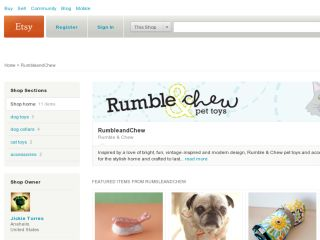 Shop at rumbleandchew.etsy.com