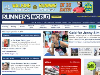 Shop at runnersworld.com