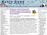 Browse Rusty-Dawg Pet Products