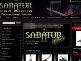 Browse Sabatur Pro Audio