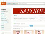 Sadshop.etsy.com Coupons