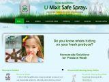Browse U-Mix-It Safe Spray