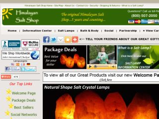 Shop at saltpower.com