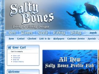 Shop at saltybones.com