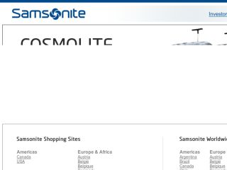 Shop at samsonite.com