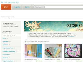 Shop at sandandstarfish.etsy.com