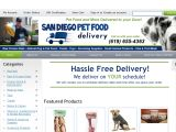 Browse San Diego Pet Food Delivery