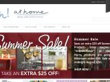 Sarhstyles.athome.com Coupon Codes