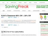 Savingfreak.com Coupon Codes