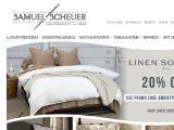 Browse Scheuer Linens