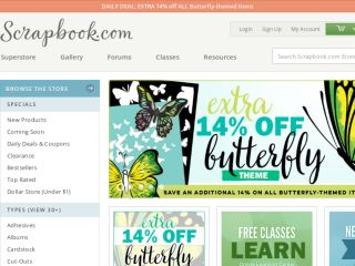 Shop at scrapbook.com