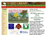 Browse Hudson Valley Seed Library