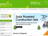 Browse Select Solar Gadgets
