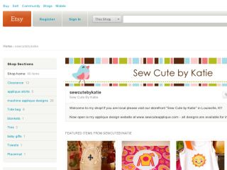 Shop at sewcutebykatie.etsy.com