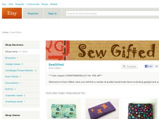 Shop at sewgifted.etsy.com