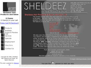 Shop at sheldeez.com